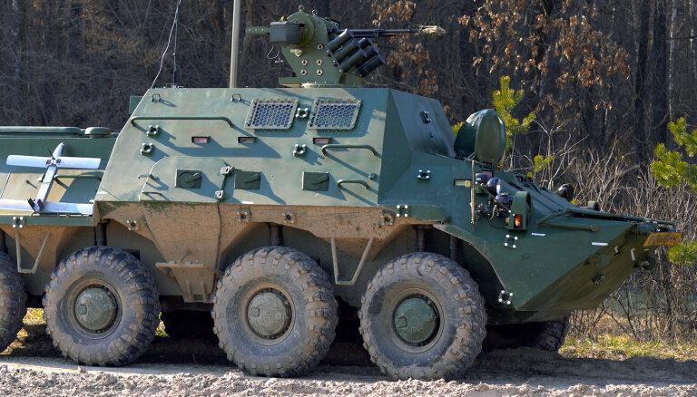 Taizemē ražos ukraiņu bruņumašīnas 'BTR-3KSH'