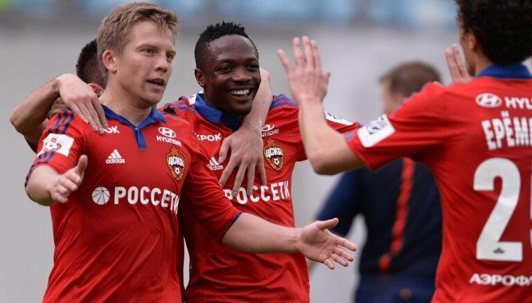 ЦСКА и Цауня вернулись на вершину, Дзюба забил сотый гол, у Смолова— покер