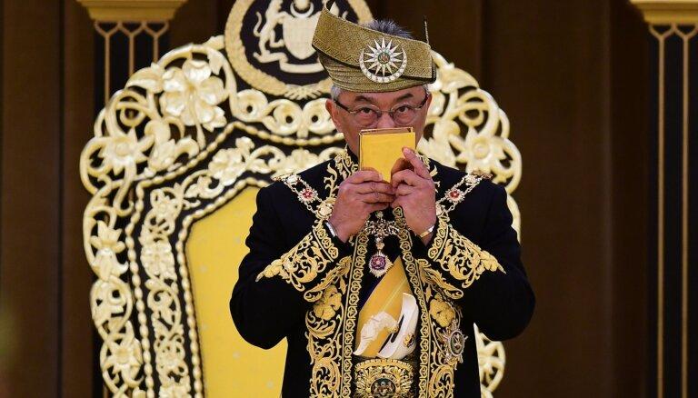 Kronēts jau 16. Malaizijas karalis