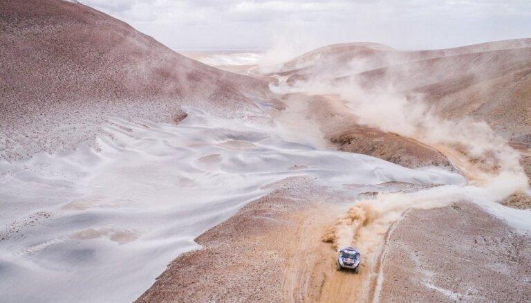 Dakaras rallijreids ar nākamo gadu norisināsies Saūda Arābijā