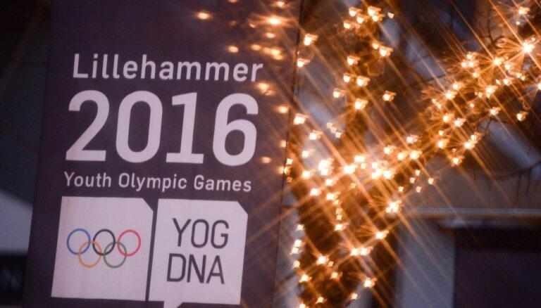 Сборная Латвии отправилась на юношеские Олимпийские игры