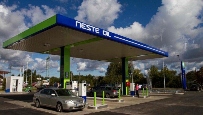 Заправки Neste Oil снова будут переименованы