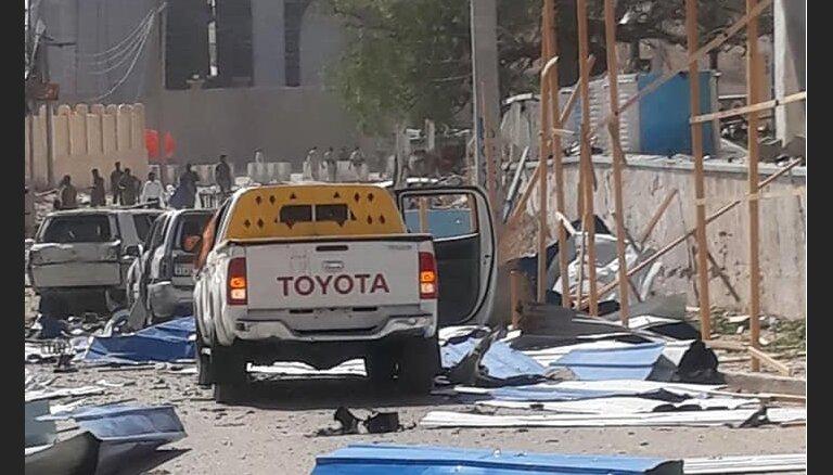 Теракт в столице Сомали: убито не менее 25 человек (ВИДЕО)