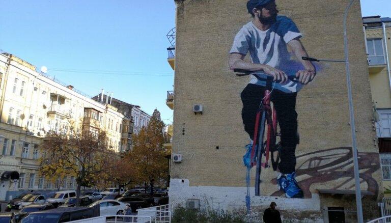 Politika un māksla uz mūriem: satriecoši Kijevas sienu gleznojumi pastaigas attālumā