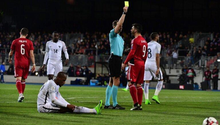 """ВИДЕО: Лукаку спасает бельгийцев с греками, Трейманис судит Францию и ставит две """"точки"""""""