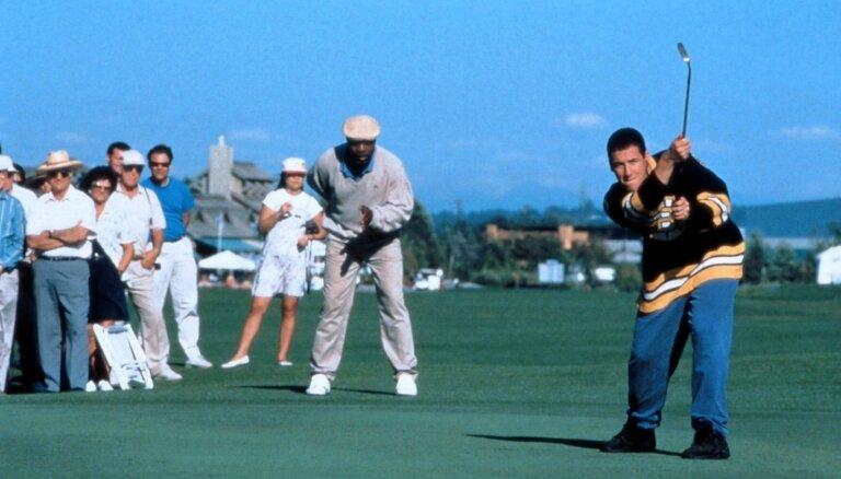 'Laimīgajam Gilmoram' 25 – Adams Sandlers atrāda nezūdošās golfa prasmes