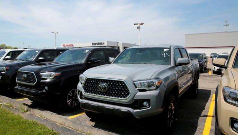 'Toyota' pārvietos pikapu 'Tacoma' ražošanu no ASV uz Meksiku