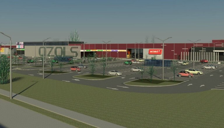 Foto: Galerijas 'Azur' vietā ceturtdien durvis ver jauns tirdzniecības centrs