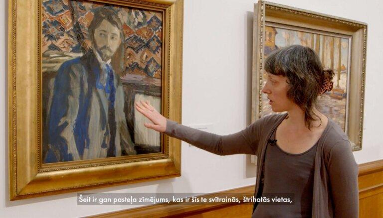 Mākslas restaurācija muzejā: iestiklojums