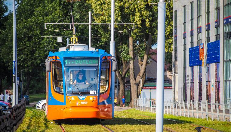 Šomēnes varētu uzstādīt pantogrāfus, lai Daugavpilī varētu sākt kursēt jaunie tramvaji