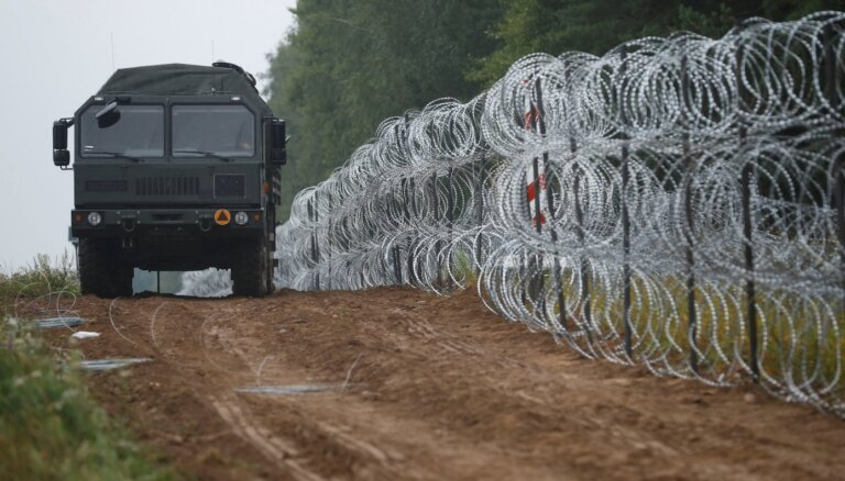 Pagaidu robežas izbūvei plāno piešķirt vēl gandrīz 1,7 miljonus eiro