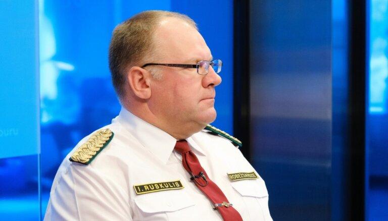Žurnālistu nelaišanu pierobežā attaisno arī ar Baltkrievu robežsargu 'psihisko noturību'