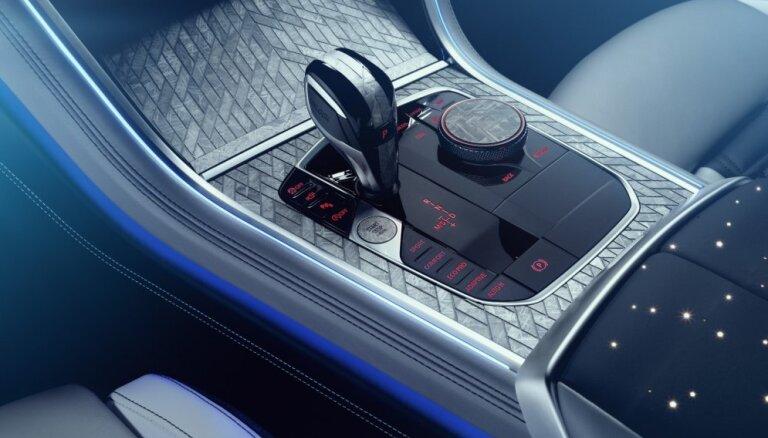 BMW ar meteorīta gabaliņiem izrotājis jauno 8. sērijas modeli