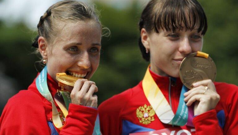 Уличенные в допинге российские спортсмены сдали олимпийские медали