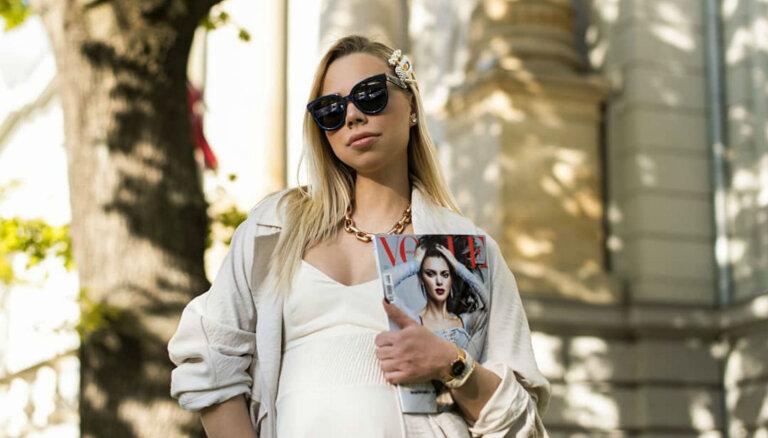 ФОТО. Как оставаться стильной во время беременности. Личный опыт популярного латвийского блогера Алины Келлер