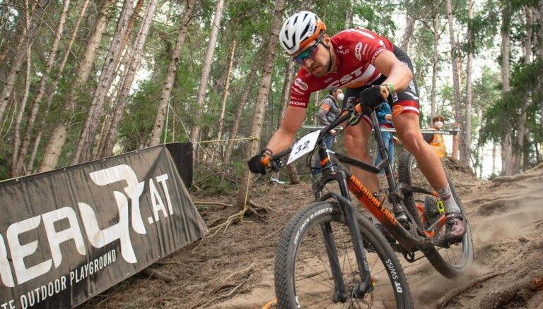 Blūmam vēl viena otrā vieta UCI kategorijas sacensībās Grieķijā