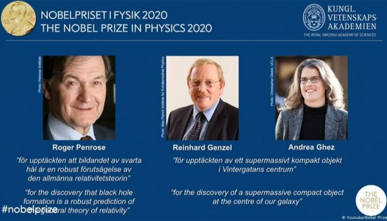 Нобелевскую премию по физике присудили за изучение черных дыр