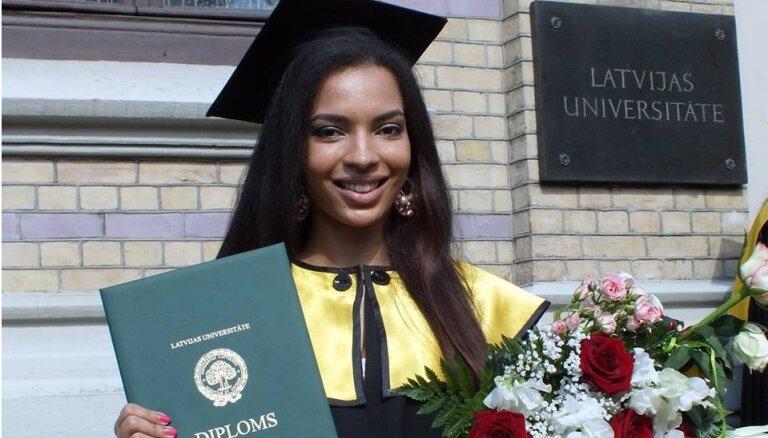 Lingita Lina Bopulu absolvējusi universitāti