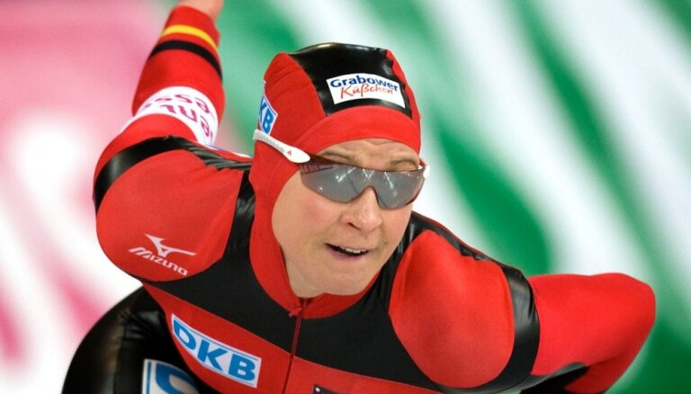 Leģendārā vācu ātrslidotāja Pehštaine zaudējusi ECT tiesā Sporta arbitrāžas tiesai