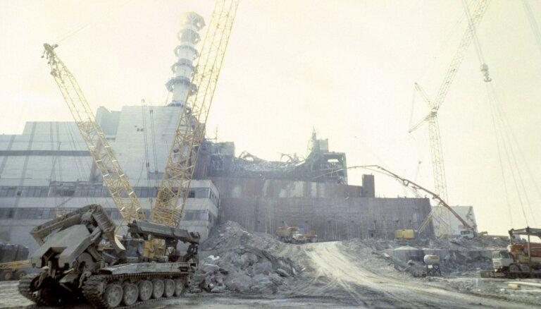 Atslepenoti VDK dokumenti: 'Černobiļā dzer visi; darbus dara 'ķap-ļap''