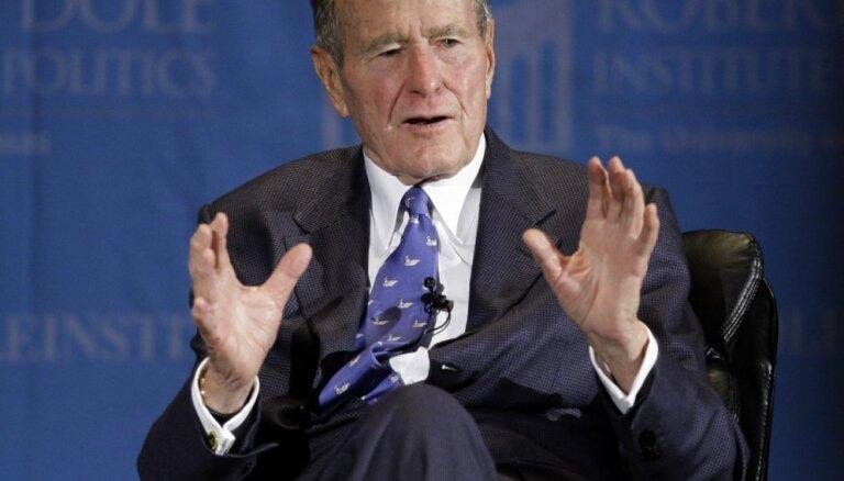 Mūžībā devies kādreizējais ASV prezidents Džordžs Bušs vecākais