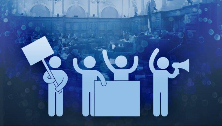 Опрос Delfi: какие партии избиратели хотели бы видеть в коалиции