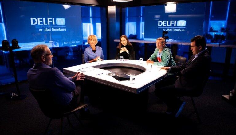 'Delfi TV ar Jāni Domburu' diskusija – ko sagaidām izglītībā, zinātnē, sportā