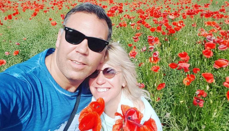 Olga Rajecka priecē ar ļoti romantisku foto