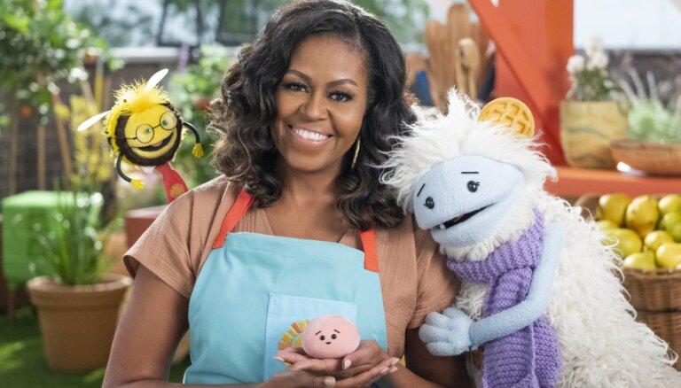 Mišela Obama jaunā 'Netflix' seriālā bērniem mācīs gatavot