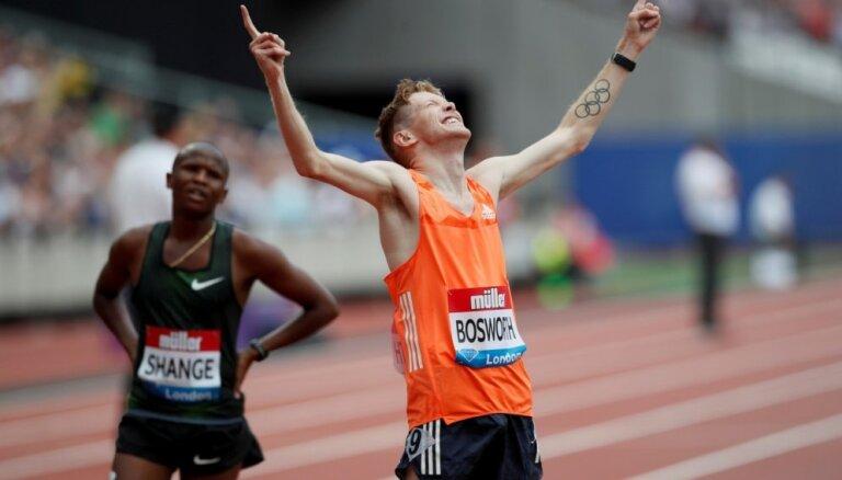 Soļotājs Bosvorts Dimanta līgas sacensībās labo pasaules rekordu 3000 metru distancē