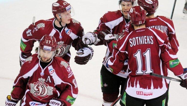 Rīgas 'Dinamo' uzsāk pēdējo izbraukumu pirms olimpiskajām spēlēm