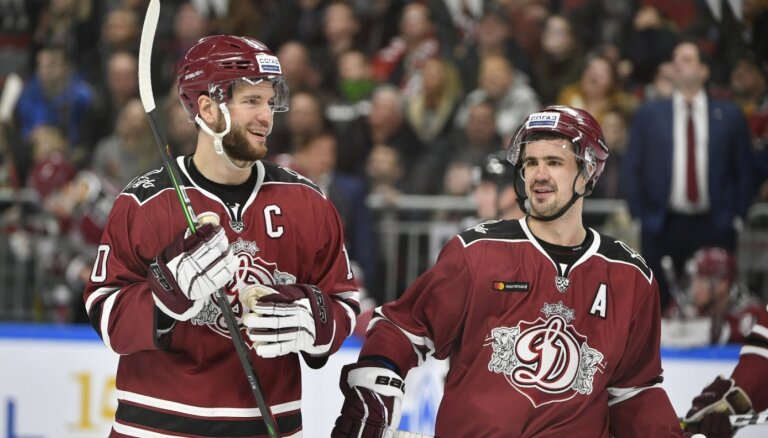 Rīgas 'Dinamo' pēc sezonas beidzas līgumsaistības ar 21 hokejistu