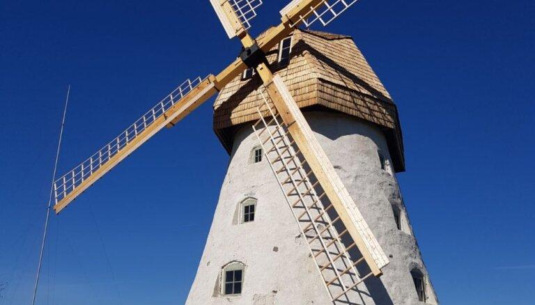 Eiropas Nacionālo parku dienā pēc rekontsrukcijas atklās Āraišu vējdzirnavas