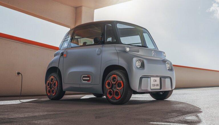 'Citroen' izstrādājis elektromobili par tikai 6000 eiro