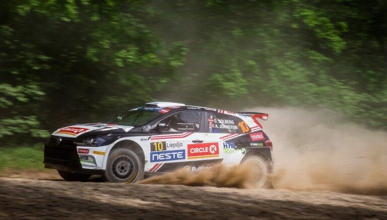 'Rally Liepāja' uzvar Olivers Solbergs; Sirmacis uzvar ERC2 ieskaitē