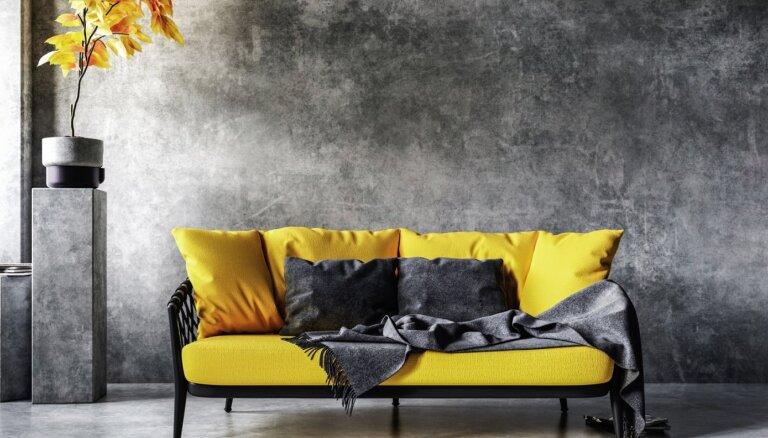 'Pantone' par 2021. gada krāsām pasludina dzelteno un pelēko