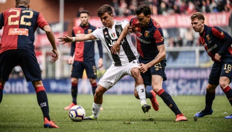 'Juventus' piedzīvo šosezon pirmo zaudējumu A sērijā