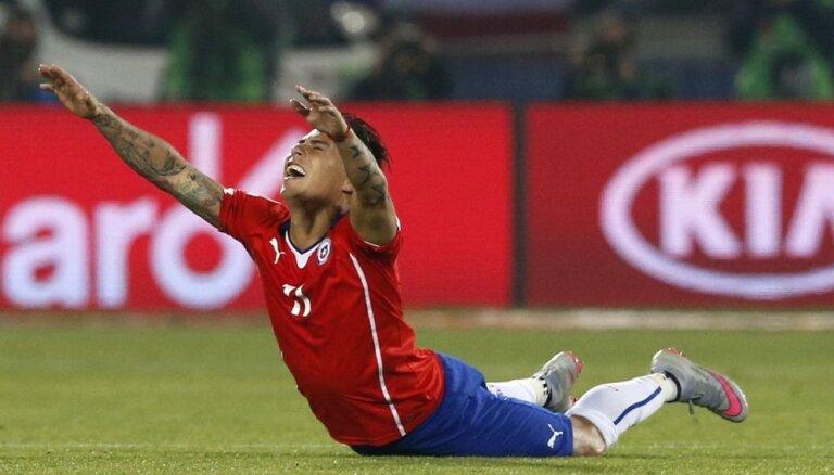 ВИДЕО: Чилийцы уничтожили Мексику в 1/4 финала Кубка Америки