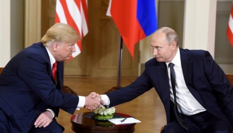 """Трамп: США не являются """"мишенью"""" для России"""