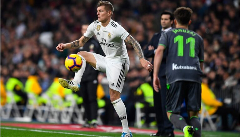 'Real Madrid' pazaudē Toniju Krosu