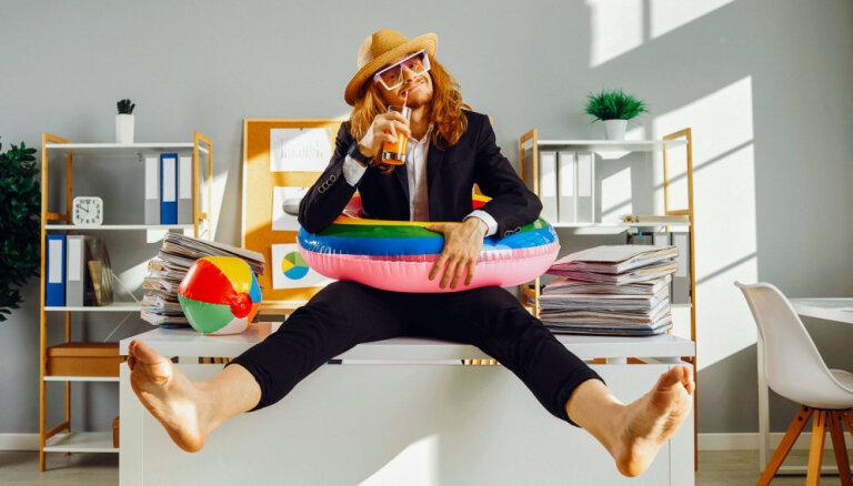 Atlikt dzīvi nevar, bet atvaļinājumu var? Kādēļ tā nav laba prakse