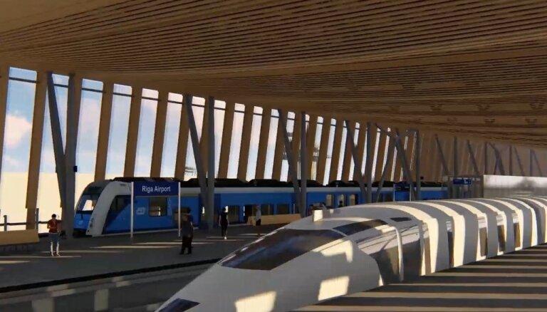 Iesniegta sūdzība iepirkumā par 'Rail Baltica' stacijas būvniecību lidostā 'Rīga'