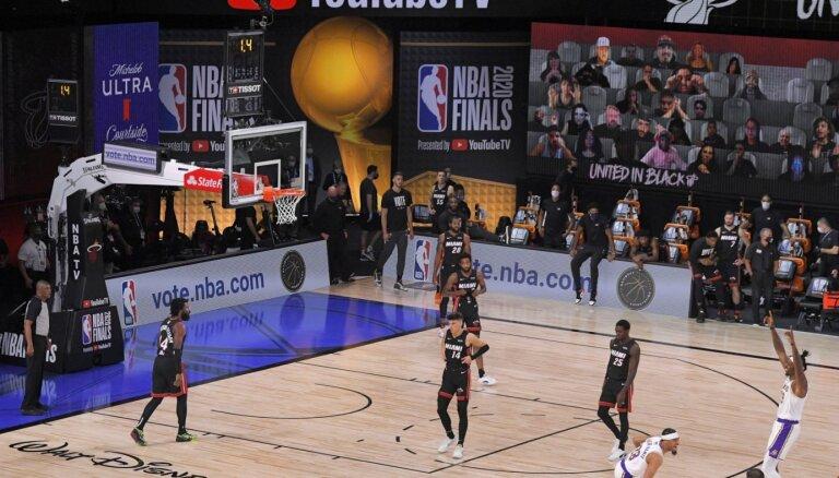 NBA 'burbulis' ļāvis izvairīties no 1,5 miljardu dolāru lieliem zaudējumiem