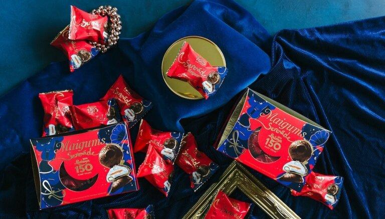 'Laima' atzīmē 150 gadu jubileju un piedāvā jaunu saldumu kolekciju