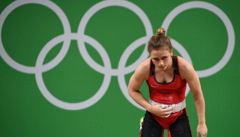 Foto: Latviešu talantīgās sportistes un citi atlēti cīnās Rio