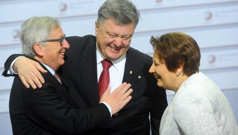 Страуюма удовлетворена декларацией рижского саммита Восточного партнерства
