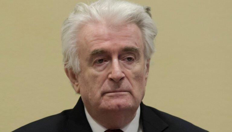 ANO tiesa noraida Karadziča apelāciju, piespriež mūža ieslodzījumu