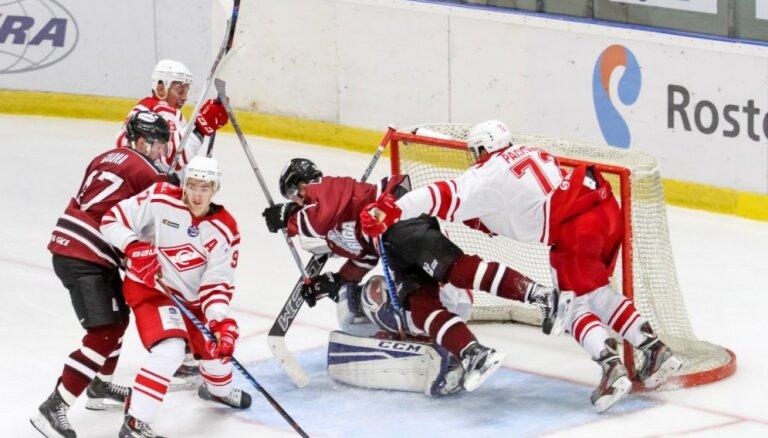 'Rīga' hokejisti ar minimālu zaudējumu iesāk MHL jauno sezonu