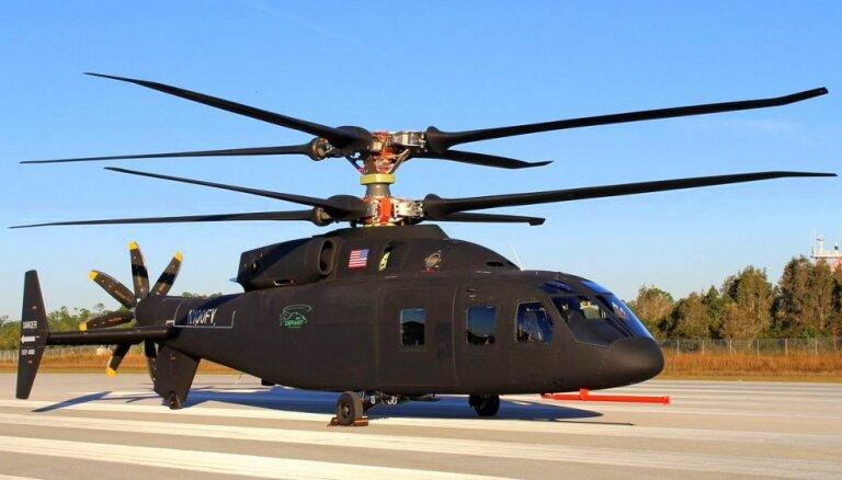 Video: Testa lidojumā paceļas žiglais nākotnes helikopters 'Defiant'