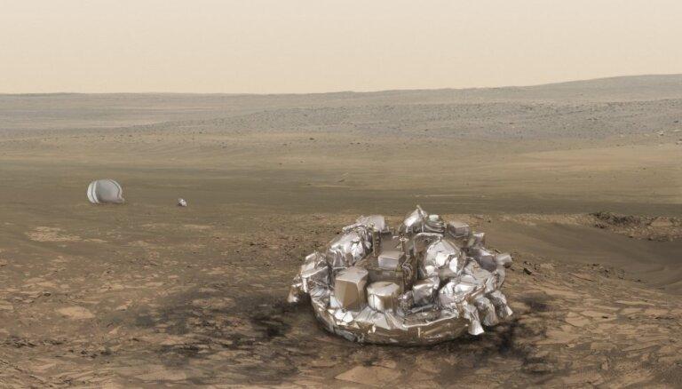 Krievijas eksperti: 'Skjaparelli' avārija neapdraud 'ExoMars' misiju